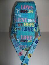 """DOORAGS"" Motorcycle,Sports,Welding,ChemoPatient Wear(BLUE LOVE,BELIEVE,HOPE)"
