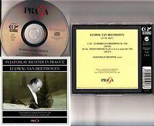 SVIATOSLAV RICHTER In Prague Live BEETHOVEN Diabelli Variations/Piano Sonata CD