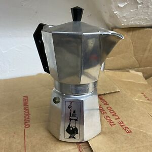 Vintage Bialetti Crusinallo Moka Express 16 Ounce Stovetop Espresso Coffee Maker