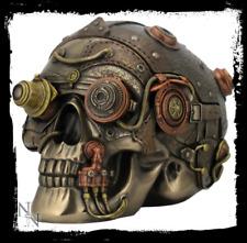 Nemesis Now Steampunk Cranial Optic Enhancer Skull Ornament/Figure
