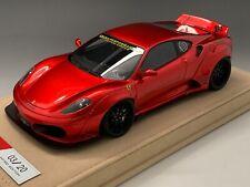 1/18 Ferrari 430 Liberty Walk LB Performance in Metallic Red  N BBR or MR
