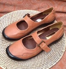 AZALEIA 8.5 M  BROWN LEATHER MARY JANE CASUAL SHOE