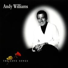 ANDY WILLIAMS THE LOVE SONGS CD EASY LISTENING 2000 NEW