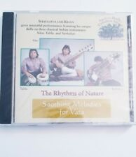 The Rhythms Of Nature soothing Melodies For Vata  by Shafaatullah Khan CD