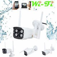 Waterproof HD 720P Wireless WiFi Outdoor Night Vision Security CCTV IP Camera