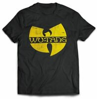 Wu Tang Clan: 'Distressed Logo' T-Shirt  *Official Wu Tang Merch*