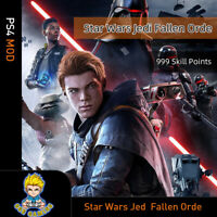 Star Wars Jedi: Fallen Order (PS4 Mod)-999 Skill Points (Game is not included)