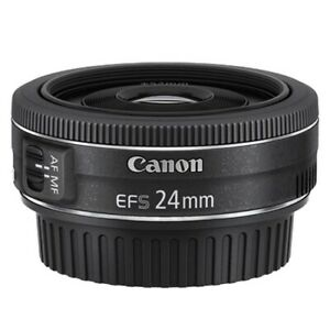 Canon EF-S 24mm f/2.8 STM Wide Angle Lens [GEN CANON WARR]