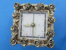 Vintage BRADLEY  (Germany)  Metal Ornate Wind-up Alarm Clock.  Works