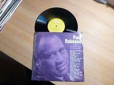 """10"""" EP - Paul Robeson singt Spirituals, Songs und Volkslieder - Opera 3430"""