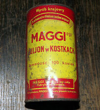 "GERMAN / POLAND WWII WEHRMACHT -  ""MAGGI"" RATION TIN - SOUP - RARE (d2)"