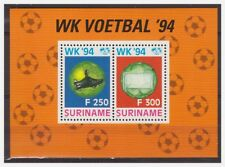 Surinam / Suriname 1994 Voetbal soccer fussball footbal S/S MNH