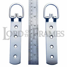 "2 X 165mm/6.5"" Super Heavy Duty Strap Hanger Screws up to 80kg Mirror Picture"