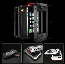 Dust & Waterproof Shockproof Aluminum Gorilla Metal Cover Case for iPhone 5 5S 6