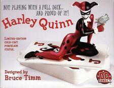 DC COMICS!! HARLEY QUINN Full SIZE STATUE Bust Maquette From JOKER & BATMAN Bust