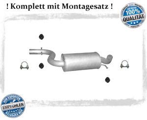 Mittelschalldämpfer für VW Golf V 5, Audi A3 1.4 TSI 2.0 FSI Auspuff Montagesatz