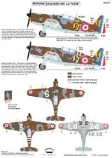"""Berna Decals 1/32 MORANE MS.406 """"LA FURIE"""" French WWII Fighter"""