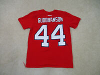 Reebok Florida Panthers Shirt Adult Medium Red Erik Gudbranson NHL Hockey Mens