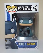 Funko Pop Earth 1 Batman # 142 Dc Super Heroes Vinyl Figure Brand New
