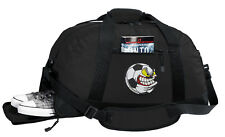 Soccer Duffel Bag BEST DUFFLE GYM Travel Bags OUTSIDE SHOE POCKET!