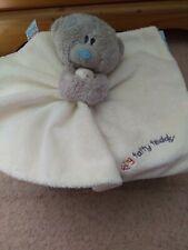 Tiny Tatty Teddy Cream Comforter. Comfort Blanket.