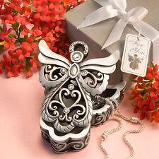 Bomboniera utile scatola angelo strass confezione comunione cresima matrimonio