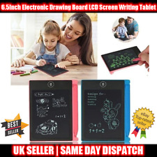 6.5 Electronic Digital LCD Writing Pad Tablet Drawing Graphics Board Graphic Kid