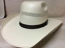 Resistol Hooey Taos Straw Rodeo Western Cowboy CHL Hat