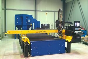 High definition CNC Plasma Oxy-propane plate and tube cutter Steel & Stainless