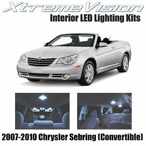 XtremeVision LED for Chrysler Sebring (convertible) 2007-2010 (8 Pieces) Cool Wh