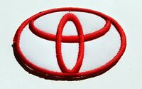 TOYOTA Car Iron On Patch Sew On Embroidered Patch T shirt Jacket Patch