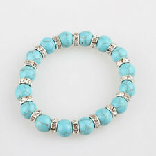 Beautiful Design Turquoise Bangle Charm Jewelry Bracelet Cuff Best Gif FQB