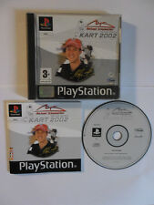 MICHAEL SCHUMACHER RACING WORLD KART 2002 - PLAYSTATION 1 - JEU PS1 PS2 COMPLET