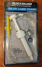 OEM MerCruiser Mercury Gear Lube Oil PUMP 32 oz 91-802891Q2 / 91-8M0072133