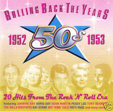 V/A - Rolling Back The Years: 1952-1953 (UK 20 Tk CD Album)