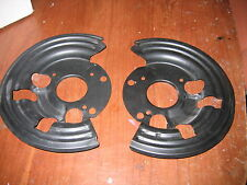 1973-1976 mopar a body disc brake shields dart duster demon valiant cuda scamp