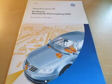 VW SSP Selbststudienprogramm # 276 Der Phaeton Automatische Distanzregelung ADR