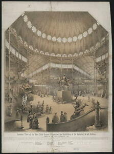 New York Crystal Palace for the exhibition of the industry of all nations  2848