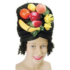 MULTI-COLOUR #FRUIT HAT & HAIR FANCY PARTY COSTUME ACCESSORY