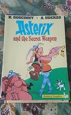 ASTERIX AND THE SECRET WEAPON  ( PAPERBACK COMIC)