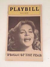 Playbill Program Woman of the Year Lauren Bacall 1981 Souvenir Palace Theatre