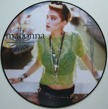 "Ultra Rare! Madonna Virgin Material 12"" Picture Disc lp vinyl"