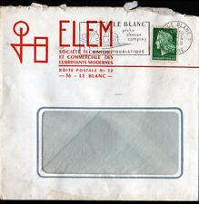 """LE BLANC (36) LUBRIFIANTS / HUILES GRAISSES """"ELEM"""" en 1969"""