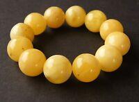 Armband, Bernstein, Butterscotch, Kugel, Balls, Beads Amber Bracelet NEU