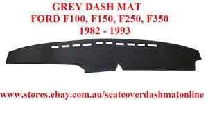 DASH MAT, GREY DASHMAT FIT FORD, F100,F150,F250,F350 1982 - 1993, GREY COLOUR