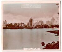Toronto Ontario Province Canada 1930s Trade Ad  Card