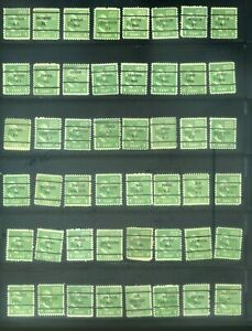 48 Piece US Precancel Collection TEN97