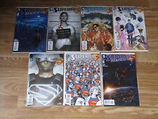 SUPERMAN AMERICAN ALIEN #1 2 3 4 5 6 7 Complete Set Movie Max Landis Comics
