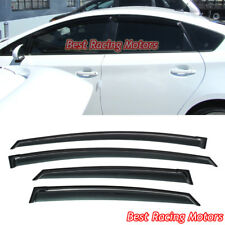 JDM Style Side Window Visors Fits 10-15 Toyota Prius Base 4dr