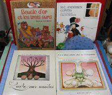 Lot de 4 livres enfants, voir détail, réf D270817